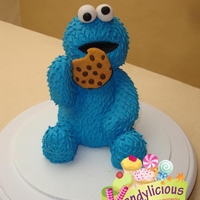 Cookie Monster   Cookie monster made with RKT