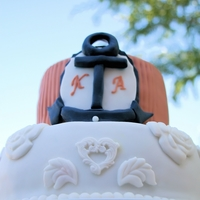 Nautical Wedding   Nautical Wedding Cake