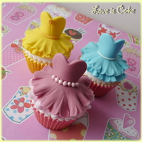 Disney Princess Cupcakes  Disney Princess cupcakes made with slight adaptions from the fabulous ballerina tutorial from Lillys Cupcakes (she's on facebook if...