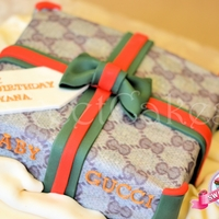 Gucci Cake Baby Gucci parcel cake