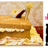 Christian Louboutin Shoes Cake Christian Louboutin Shoes Cake, customer provided the picture of the shoes.