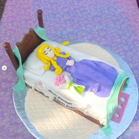 Sleeping Beauty Themed Cake Sleeping beauty themed cake