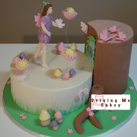 Fairy Tree Stump Cake29 Copy