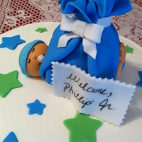 Baby Bundle Made Of Rct And Fondant Baby bundle made of RCT and fondant.
