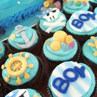 Pirate Theme/ocean Theme Baby Shower