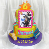 Ijaneta Birthday Birthday cake made for our little cousin's 6th birthday. Yes, she's a huge iCarly fan so we incorporated a personalized logo of...