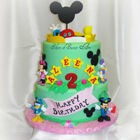 Mickey Club House Birthday