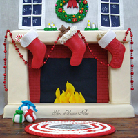 Christmas Stocking Cookies - Bake A Christmas Wish Collaboration Our Christmas Stocking Cookies, hanging by the fire with care, made for the ''Bake A Christmas Wish'' collaboration....