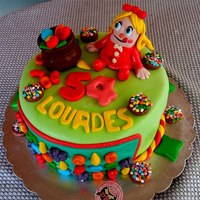Candy Crush Candy Crush Cake