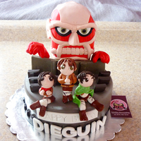 "Attack On Titan Made this based on the anime ""attack on titan"" . Did not know what was it about but made my research."
