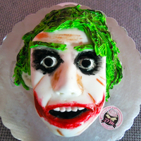 Overly Attached Joker Gone are the days of halloween cakes but I really liked this Overly Attached Joker cake ... The cake was made for a boyfriend. The...
