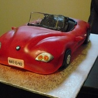 My First Car Cake Was A Lot Of Fun A Bmw For A 40Th Birthday The Toothpick Behind The Windshield Got Removed Once It Was Delivered My first car cake, was a lot of fun! A BMW for a 40th birthday, the toothpick behind the windshield got removed once it was delivered!