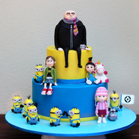 Finally I Have Something To Show For Myself My Despicable Me Cake For My 4 Year Old Son Liam I Cant Tell You How Much I Enjoyed Making Th Finally I have something to show for myself. My Despicable Me cake for my 4 year old son Liam. I can't tell you how much I enjoyed...