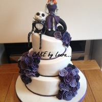 Nightmare Before Christmas Wedding Cake Nightmare before christmas wedding cake