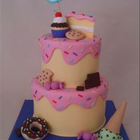A Cake For Someone With A Sweet Tooth A cake for someone with a sweet tooth!