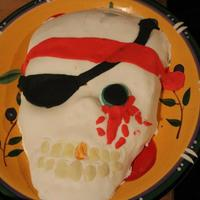 Halloween Cakes Zombie/Pirate/??? Cake