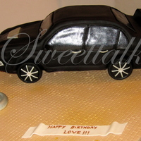 3D Mitsubishi Car Cake !!! 3D Mitsubishi Car cake....A surprise from a bride to her husband !!! Red Velvet with Cream cheese frosting :)