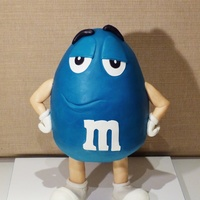 Mr. Blue M&m's