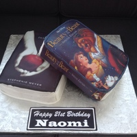 21St Book Cake For A Lady Who Loved Twilight And Sleeping Beauty