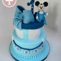Baby Mickey Mousse Baby Mickey cake 1
