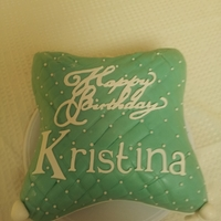 30Th Birthday Pillow Cake