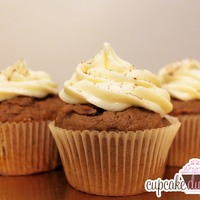 Pumpkin Spice! Pumpkin Spice Cupcakes with Cream Cheese Frosting