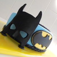 Batman Mask Made Of Fondant Batman mask made of fondant