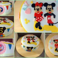 Mickey Amp Minnie Cake Mickey & Minnie cake
