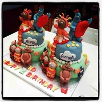 In The Night Garden In the night garden twins birthday cake