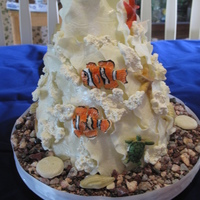 This Is A Cake I Made For My Daughters Birthday It Is A Yellow Raspberry Cake And Chocolate Cake Covered In White Chocolate Ganache The This is a cake I made for my daughters birthday. It is a yellow raspberry cake and chocolate cake covered in white chocolate ganache. The...