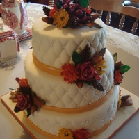 Fall Theme Wedding