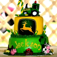First Birthday Johndeere