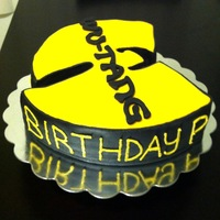 A Wu Tang Birthday Cake I Designed For A Special Birthday Request   A Wu-tang Birthday Cake I designed for a Special Birthday Request.