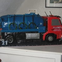 Lorry Cake this was a true to scale cake on every detail let me no what you think