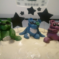 Carrot Cake With Cream Cheese Icing And Zombie Bears Carrot cake with cream cheese icing and zombie bears