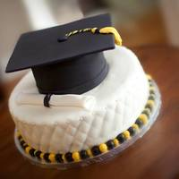 Grad Cake For Sam And Alex *
