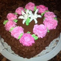 My Cakes Chocolate Basketful of Flowers