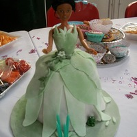 Little Girls Birthday Cakes  I made this Princess Tiana for my daughters 4th birthday. It was my first 3d cake (& only my third novelty cake) so I would do some...