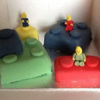 Lego And Lego Men Cake