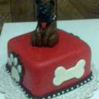 Boxer Dog Cake By Pamcakes Boxer Dog Cake by PamCakes