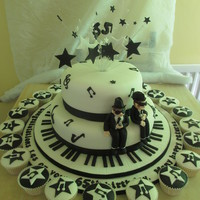 Blues Brothers Cake And Cupcakes Lemon Sponge With Lemon Buttercream Filling The Largest Cake Drum Is 20 Inches Was Very Heavy And Diffic  Blues Brothers cake and cupcakes, Lemon sponge with lemon buttercream filling, The largest cake drum is 20 inches, was very heavy and...