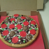 """pizza"" Cake All edible :)"