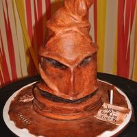 Sorting Hat From Harry Potter My daughters 15th birthday Harry Potter cake ( Sorting Hat) Thanks to Carol74 for inspiration and directions way back in December, I never...