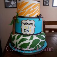 Lion King Baby Showers Cake Lion king baby showers cake
