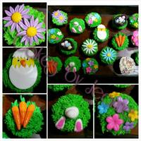 Easter Cupcakes Easter Cupcakes