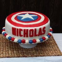 Captain America shield cake Cake Gallery on Cake Central