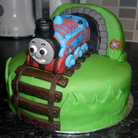Thomas The Tank Engine 2 days notice to make this for a 2yr olds birthday.