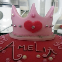 Princess Princess Themed Cake