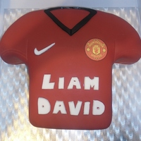Manchester United Birthday Cake