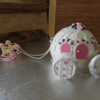 Princess Carriage I made this for my daughters 1st birthday